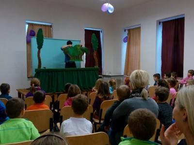 Loutkové divadlo MŠ - zvířátka a loupežníci 2016