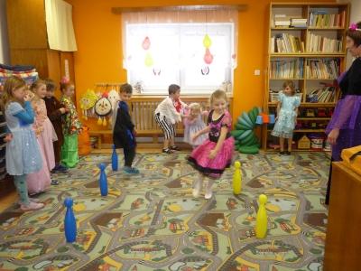dětský karneval v MŠ 2016