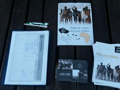 Sbírka kol pro Afriku