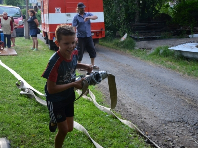 SDH - trénink dětí po rybářských závodech foto M. Šťíbal