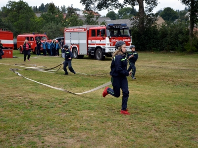 Hasičská soutěž malých hasičů okrsku Velká Losenice. Foto Marek Štíbal.
