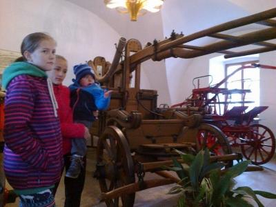 Přespání dětí SDH Malá Losenice a Velká Losenice + návštěva hasičského muzea a letiště v Přibyslavi