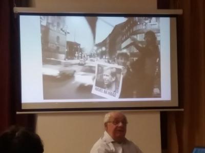 Beseda o událostech listopadu 1989 s Ing. Pavlem Jajtnerem v naší zemi a na Přibyslavsku.