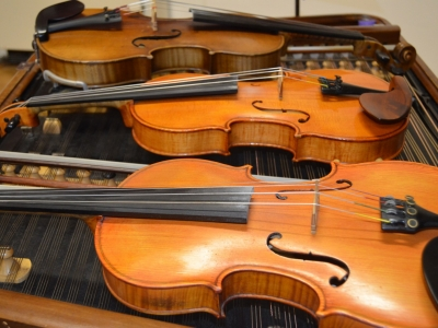 Svatomartinské posezení s cimbálovou muzikou Josefa Marečka, foto Veronika Masařová.