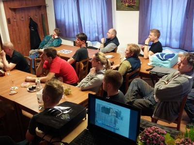 Školení malých i velkých hasičů o BOZP a požární ochraně panem Janem Vařekou