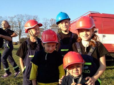 Finále okrskové soutěže malých hasičů