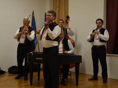 Cimbálová muzika Josefa Marečka 2018. foto Marek Štíbal