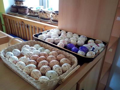Prodejní velikonoční výstava v MŠ Malá Losenice