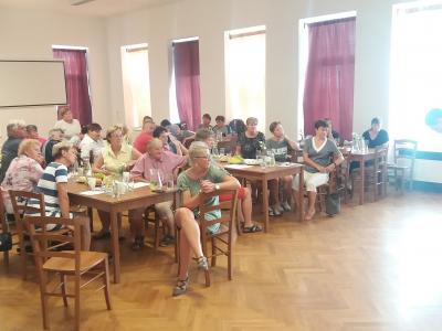 Letní škola seniorů Kraje Vysočina 2019 - Rozhýbejme svoje klouby a tělo pomocí vývojových metok, lektor Aleš Chytil