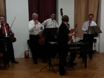 Svatomartinské posezení s Cimbálovou muzikou Josefa Marečka