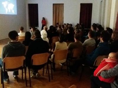 Přednáška Veroniky Němcové o cestování po Indonesii.