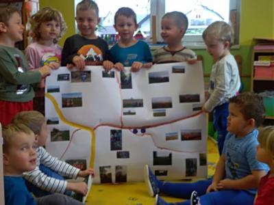 Ocenění soutežících ve fotografické soutěži + výsledek projektu v MŠ