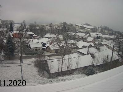 Fotky z web kamery za rok 2020