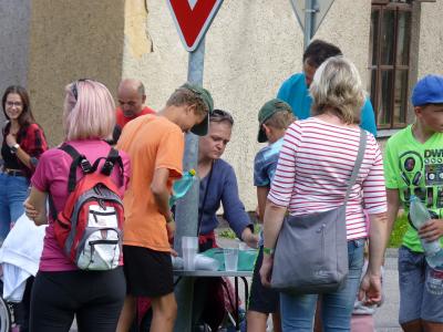 Pochod přátelství obce Malá Losenice a Klubu Úsměv