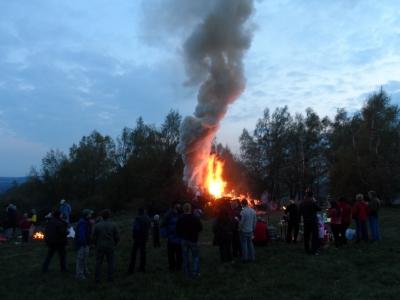 pálení čarodějnic 2015